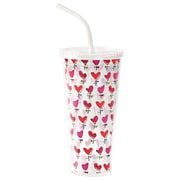 Kathy Davis Love 20 Oz. Little Hearts Double Wall Insulated Tumbler