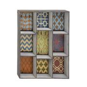 Woodland Imports Wood Wall Shelf