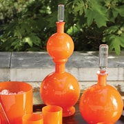 Studio A Bar ware Lab Double Decanter; Clementine