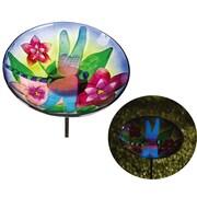 Evergreen Flag & Garden Dragonfly Decorative Tray Bird Feeder