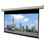 "TygerClaw 100"" Noiseless Motorized Projector Screen, 72.8"" x 72.8"" x 6.3"", Black"
