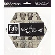 FabScraps The Gentleman's Club Hexagons, 42/Pack