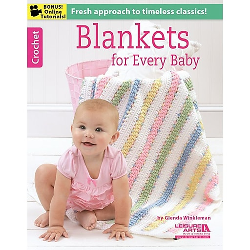 """Leisure Arts LA-6368 """"Blankets For Every Baby"""""""