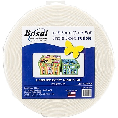 Bosal 495S-20 In-R-Form Unique Fusible Foam Stabilizer