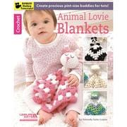"""Leisure Arts LA-6373 """"Animal Lovie Blankets"""""""