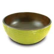 Enrico Honeycomb Salad Bowl; Chocolate