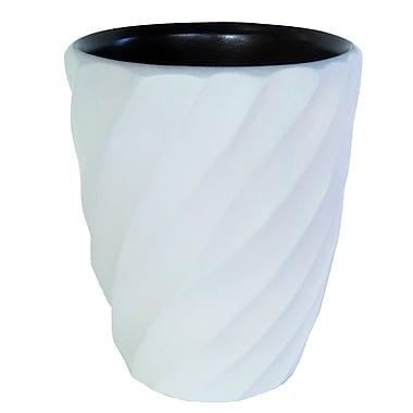 Enrico Spiral Utensil Vase; White