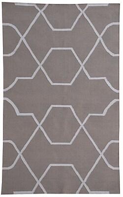 MOTI Rugs Thai 01 Gray Indoor/Outdoor Area Rug; 5' x 8'