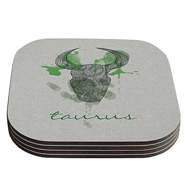 KESS InHouse Taurus by Belinda Gillies Coaster (Set of 4)