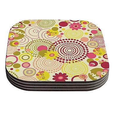 KESS InHouse Poa by Louise Machado Coaster (Set of 4)