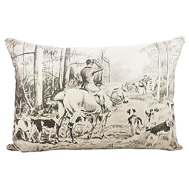 TheWatsonShop Fox Hunting Cotton Lumbar Pillow