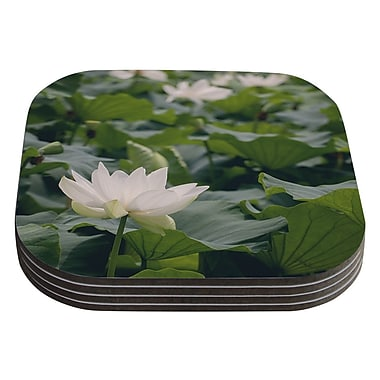 KESS InHouse Lotus by Catherine McDonald Coaster (Set of 4)