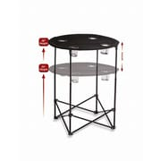 Picnic Plus by Spectrum Scrimmage Tailgate Table; Black