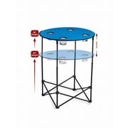 Picnic Plus by Spectrum Scrimmage Tailgate Table; Royal