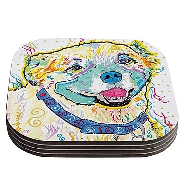 KESS InHouse Milo by Rebecca Fischer Coaster (Set of 4)