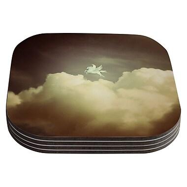 KESS InHouse Pegasus by Richard Casillas Coaster (Set of 4)