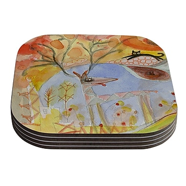 KESS InHouse Promise of Magic by Marianna Tankelevich Coaster (Set of 4)