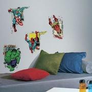 Room Mates Internet Only Marvel Superhero Burst Wall Decal