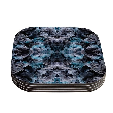 KESS InHouse Abyss by Akwaflorell Coaster (Set of 4)