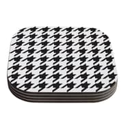 KESS InHouse Spacey Houndstooth by Empire Ruhl Coaster (Set of 4)