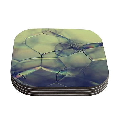 KESS InHouse Bubblicious by Ingrid Beddoes Coaster (Set of 4)