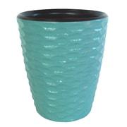 Enrico Honeycomb Utensil Vase; Turquoise