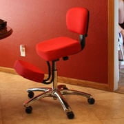 Jobri Jazzy Kneeling Chair; Red