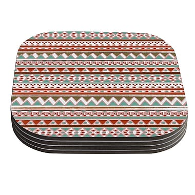 KESS InHouse Boho Mallorca by Nika Martinez Coaster (Set of 4)