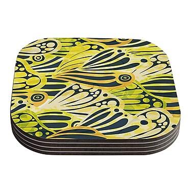 KESS InHouse Papalote by Anchobee Coaster (Set of 4)