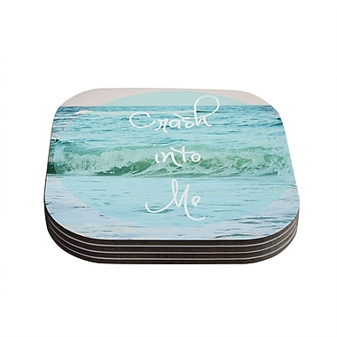 KESS InHouse Crash Into Me by Beth Engel Coaster (Set of 4)