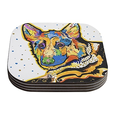 KESS InHouse Floyd by Rebecca Fischer Coaster (Set of 4)