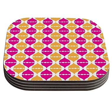 KESS InHouse Moroccan Dreams by Apple Kaur Designs Coaster (Set of 4)