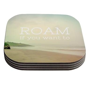 KESS InHouse Roam by Alison Coxon Coaster (Set of 4)