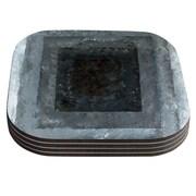 KESS InHouse Art Box by CarolLynn Tice Coaster (Set of 4)