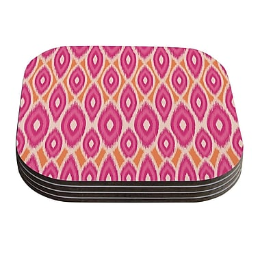 KESS InHouse Moroccan by Amanda Lane Coaster (Set of 4)