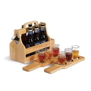 Picnic Plus by Spectrum Brew Fest 6 Bottle Tabletop Wine Rack