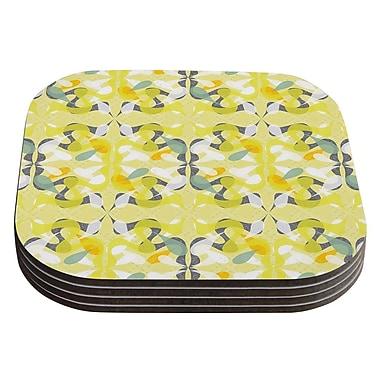 KESS InHouse Spring Flourish by Miranda Mol Coaster (Set of 4)