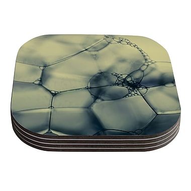 KESS InHouse Bubbles by Ingrid Beddoes Coaster (Set of 4)