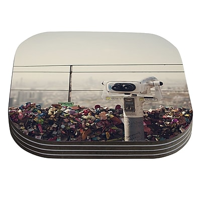 KESS InHouse The View Seoul by Catherine McDonald Coaster (Set of 4)