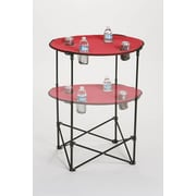 Picnic Plus by Spectrum Scrimmage Tailgate Table; Maroon