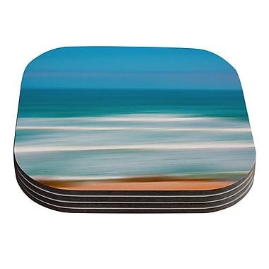 KESS InHouse Sun and Sea by Ann Barnes Coaster (Set of 4)