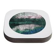 KESS InHouse Swamp by Micah Sager Coaster (Set of 4)