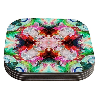 KESS InHouse Achat I by Danii Pollehn Coaster (Set of 4)