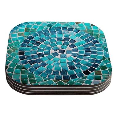 KESS InHouse Circular by Sylvia Cook Coaster (Set of 4)