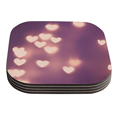 KESS InHouse Your Love Is Electrifying by Beth Engel Coaster (Set of 4)