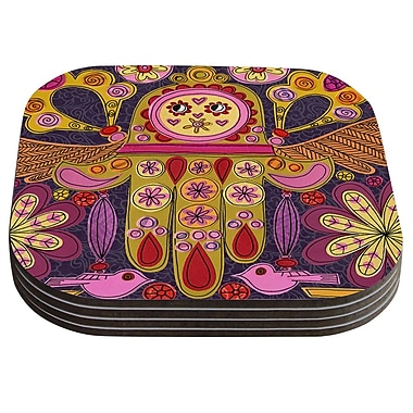 KESS InHouse Indian Jewelry by Jane Smith Coaster (Set of 4)