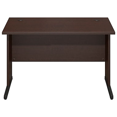 Bush® Business Westfield Elite 48W x 30D C-Leg Desk, Mocha Cherry