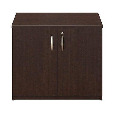 Bush® Business Westfield Elite 36W Storage Cabinet, Mocha Cherry