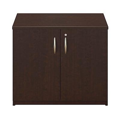 Bush Business Furniture Westfield Elite 36W Storage Cabinet, Mocha Cherry/Mocha Cherry (WC12998SUFA)