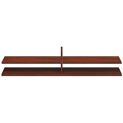 Bush Business Furniture Westfield Elite 60W x 12.5D Standing Table Desk Shelf Kit, Hansen Cherry (WC24516)